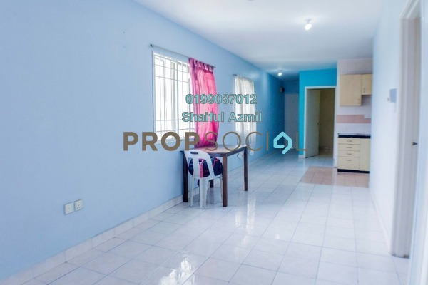 For Sale Apartment at Flora Damansara, Damansara Perdana Freehold Semi Furnished 3R/2B 185k