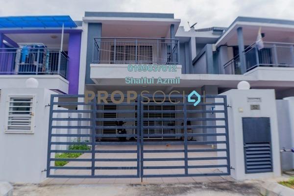 For Sale Terrace at Bandar Tasik Puteri, Rawang Freehold Semi Furnished 4R/3B 440k