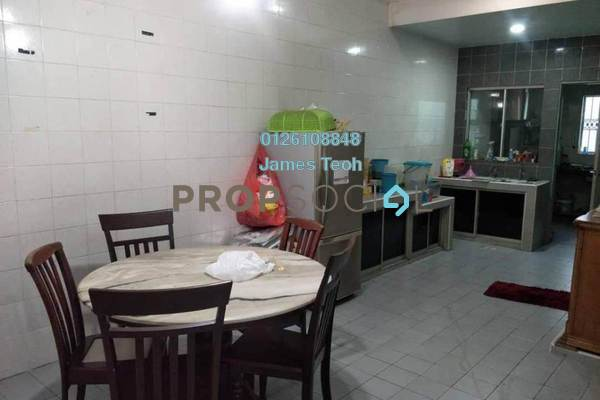 For Sale Terrace at Taman Sentosa, Klang Freehold Semi Furnished 4R/3B 415k