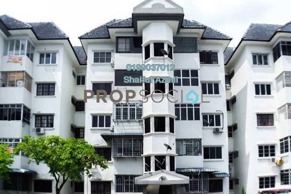 For Sale Apartment at Sri Tanjung Apartment, Bandar Puchong Jaya Freehold Fully Furnished 3R/2B 365k