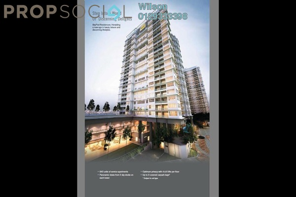 For Sale Condominium at Skypod, Bandar Puchong Jaya Freehold Fully Furnished 3R/3B 828k