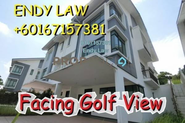 For Sale Semi-Detached at Golf View Apartment, Bukit Jambul Freehold Unfurnished 4R/5B 1.68m