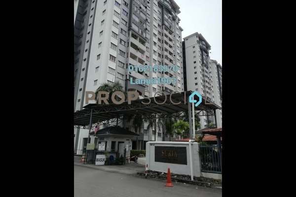 For Sale Apartment at Suria KiPark Damansara, Kepong Freehold Semi Furnished 3R/2B 300k