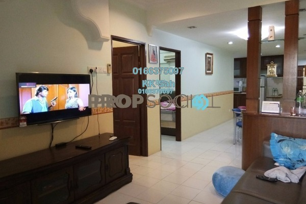 For Sale Apartment at Prima Bayu, Klang Freehold Semi Furnished 3R/2B 287k
