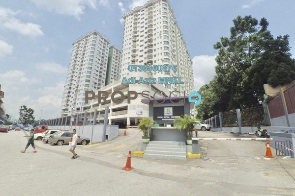 For Sale Apartment at Kepong Sentral Condominium, Sungai Buloh Leasehold Unfurnished 3R/2B 290k