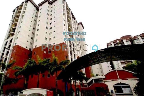 For Sale Condominium at Ketumbar Hill, Cheras Freehold Semi Furnished 3R/2B 408k