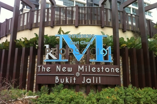 For Rent Condominium at KM1, Bukit Jalil Freehold Fully Furnished 4R/4B 5.8k