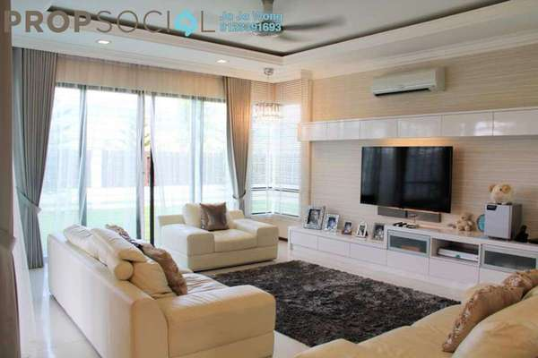 For Sale Semi-Detached at Lake Garden Villas, Cahaya SPK Freehold Semi Furnished 4R/5B 1.45m