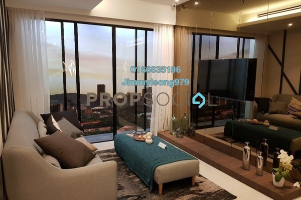 For Sale Serviced Residence at KL Traders Square, Kuala Lumpur Freehold Semi Furnished 3R/2B 399k