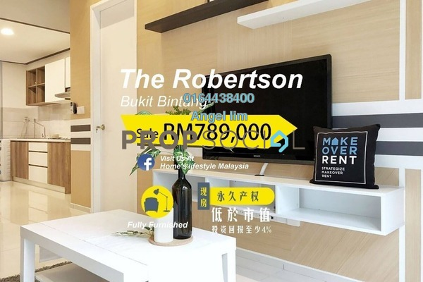 For Sale Condominium at The Robertson, Pudu Freehold Fully Furnished 1R/1B 789k