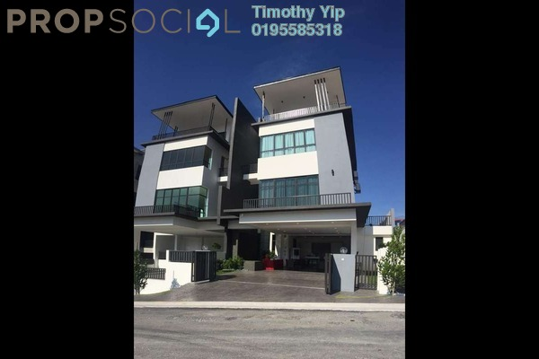 For Sale Semi-Detached at Wira Heights, Bandar Sungai Long Freehold Unfurnished 5R/6B 1.59m