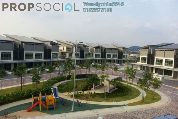 For Sale Terrace at D'Island, Puchong Freehold Unfurnished 6R/5B 1.05m