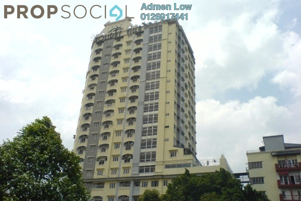 For Sale Serviced Residence at D-Villa Residence, Ampang Hilir Freehold Semi Furnished 1R/1B 360k