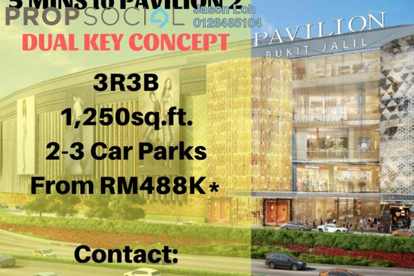 For Sale Condominium at Vista OUG @ Platinum OUG, Bukit Jalil Leasehold Unfurnished 3R/3B 488k