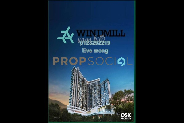 For Sale SoHo/Studio at Windmill Upon Hills, Genting Highlands Freehold Fully Furnished 1R/1B 410k