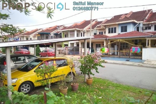 For Sale Terrace at Seksyen 7, Bandar Baru Bangi Freehold Semi Furnished 5R/4B 500k
