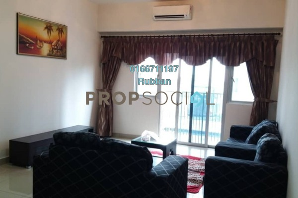 For Rent Condominium at The Wharf, Puchong Freehold Fully Furnished 3R/2B 1.5k