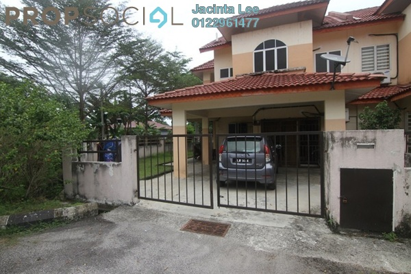 For Sale Terrace at Kampung Kuala Sungai Baru, Puchong Leasehold Semi Furnished 4R/3B 400k