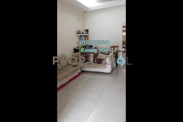 For Sale Terrace at Kepong Baru, Kepong Leasehold Semi Furnished 3R/2B 665k