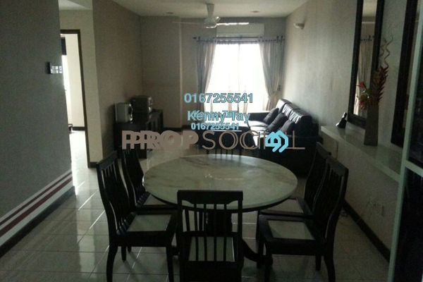 For Sale Condominium at Puri Tower, Puchong Freehold Semi Furnished 3R/2B 545k
