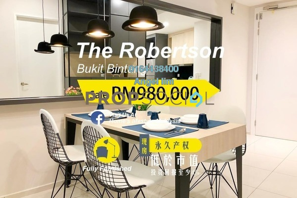 For Sale Condominium at The Robertson, Pudu Freehold Fully Furnished 1R/1B 980k