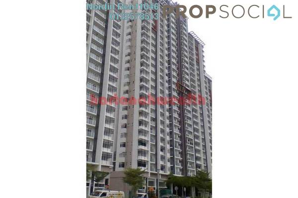 For Sale Serviced Residence at Dwiputra Residences, Putrajaya Freehold Semi Furnished 3R/3B 570k
