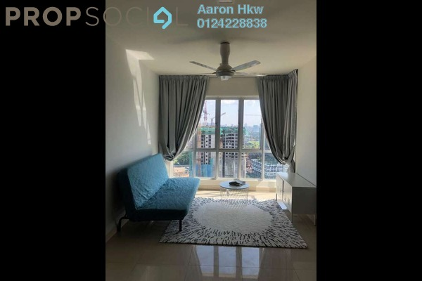 For Rent Apartment at Maxim Citilights, Sentul Freehold Fully Furnished 3R/2B 1.7k