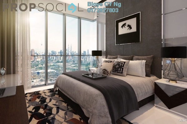 For Sale Serviced Residence at Lavile, Kuala Lumpur Freehold Fully Furnished 3R/2B 750k