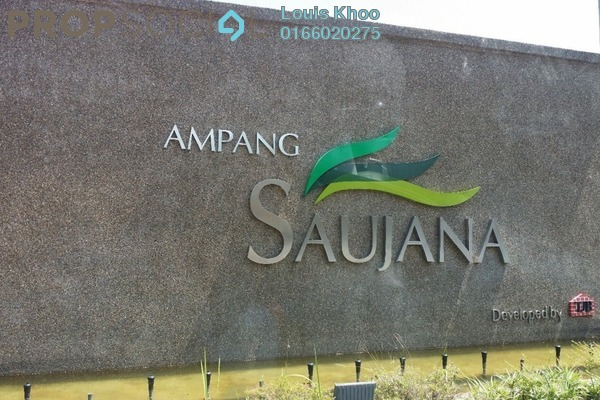 For Sale Condominium at Ampang Saujana, Ampang Freehold Unfurnished 4R/3B 840k