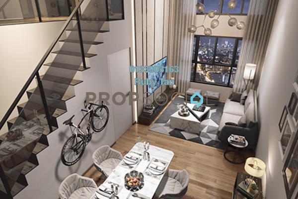 For Sale Duplex at Maju Kuala Lumpur, Sungai Besi Leasehold Fully Furnished 3R/2B 624k