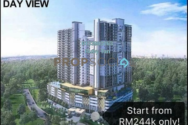 For Sale Serviced Residence at NOVO 8, Melaka Freehold Semi Furnished 2R/2B 438k