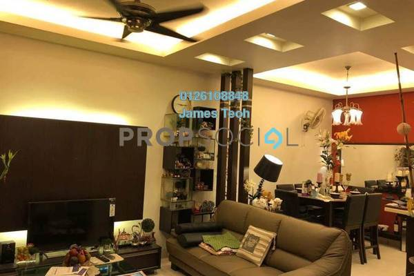 For Sale Terrace at Nahara, Bandar Bukit Raja Freehold Semi Furnished 4R/3B 650k
