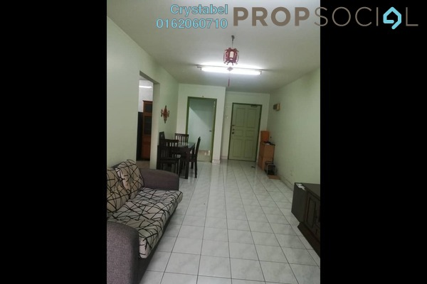 For Rent Condominium at Kenanga Point, Pudu Freehold Fully Furnished 3R/2B 1.6k