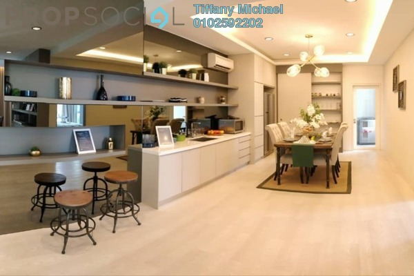 For Sale Condominium at LakeFront Residence, Cyberjaya Freehold Semi Furnished 3R/2B 388k