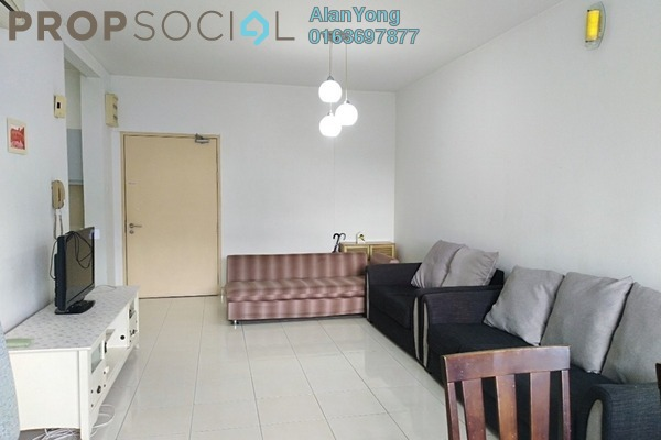 For Rent Condominium at Viva Residency, Sentul Freehold Fully Furnished 2R/2B 1.7k