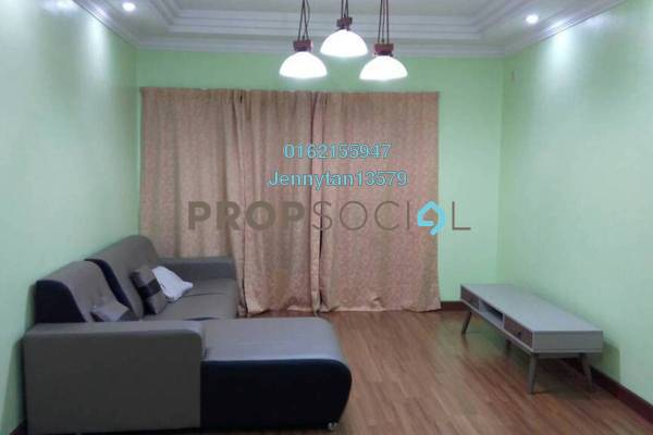 For Rent Condominium at Bayu Tasik 2, Bandar Sri Permaisuri Freehold Fully Furnished 3R/2B 1.6k