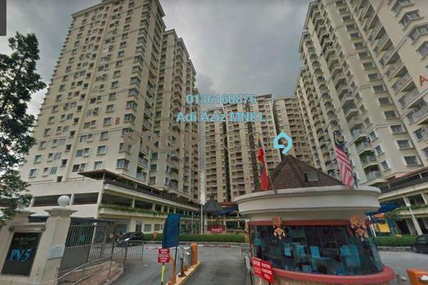 For Sale Condominium at Platinum Hill PV5, Setapak Freehold Unfurnished 4R/2B 500k
