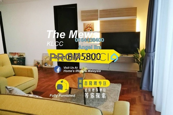 For Rent Condominium at The Mews, KLCC Freehold Fully Furnished 2R/2B 5.8k