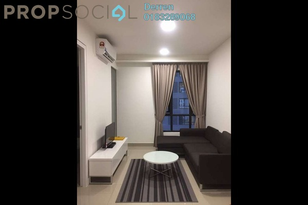 For Rent Condominium at Eclipse Residence @ Pan'gaea, Cyberjaya Freehold Fully Furnished 1R/1B 1.2k