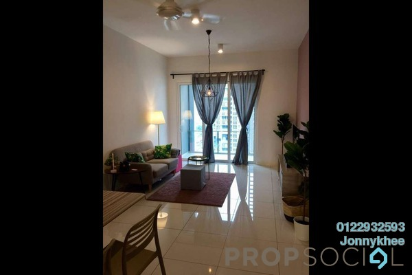 For Rent Condominium at EcoSky, Jalan Ipoh Freehold Fully Furnished 3R/2B 2.5k