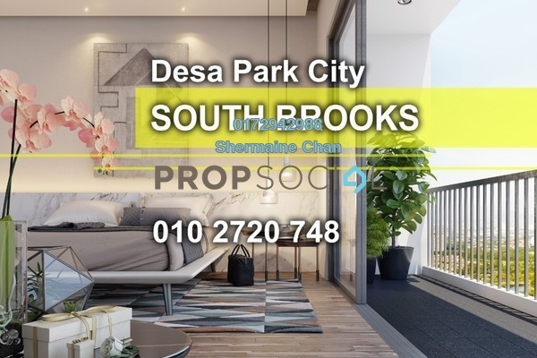 For Sale Condominium at South Brooks, Desa ParkCity Freehold Semi Furnished 3R/2B 849k