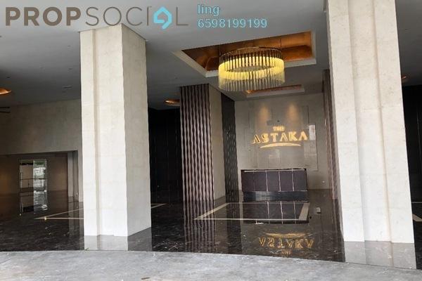 For Sale Condominium at The Astaka @ 1 Bukit Senyum, Johor Bahru Freehold Fully Furnished 3R/3B 2.85m