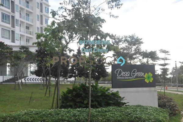 For Rent Condominium at Desa Green Serviced Apartment, Taman Desa Freehold Fully Furnished 2R/2B 2.3k