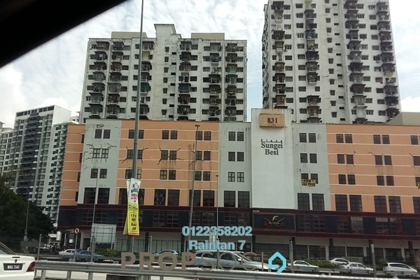 For Sale Apartment at Taman Sungai Besi, Sungai Besi Leasehold Unfurnished 3R/1B 140k