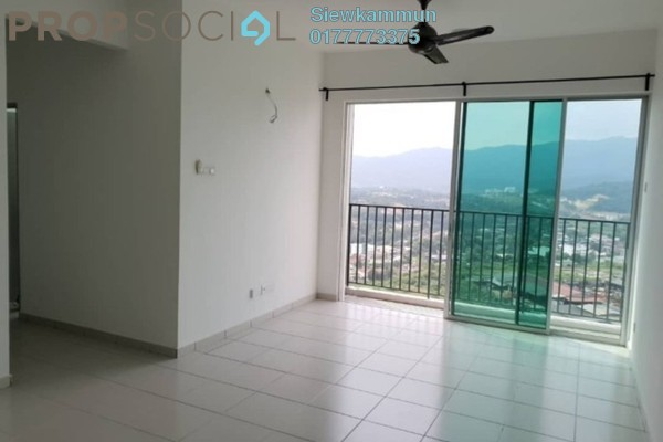 For Rent Serviced Residence at The Zizz, Damansara Damai Freehold Unfurnished 3R/2B 1.2k