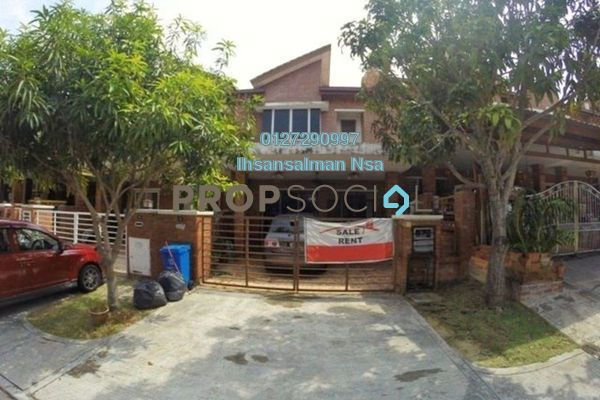 For Sale Terrace at Alam Budiman, Shah Alam Freehold Unfurnished 4R/4B 615k