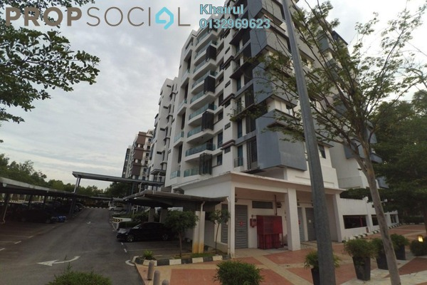 For Sale Condominium at Gardenview Residence, Cyberjaya Freehold Fully Furnished 4R/2B 890k