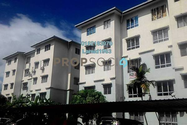 For Sale Apartment at Camellia Court Apartment, Rawang Freehold Unfurnished 3R/2B 95k