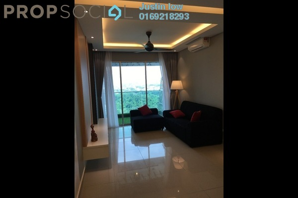 For Sale Condominium at Kiara Residence 2, Bukit Jalil Leasehold Semi Furnished 3R/2B 650k