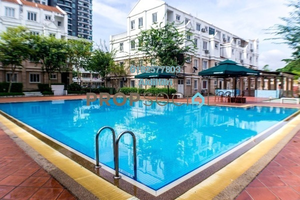 For Sale Townhouse at Sommerset Close, Bandar Sri Permaisuri Freehold Semi Furnished 4R/4B 750k